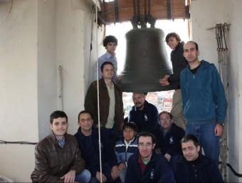 Colla de campaners de Massanassa que va protagonitzar diumenge passat el concert. CEDIDA