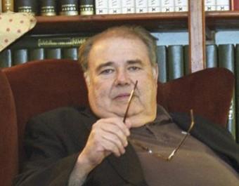 Pere Ignasi Fages a la seva casa d'Ordis, l'any 2002. LLUÍS SERRAT