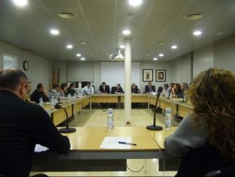 Imatge d'arxiu d'una sessió plenària del Consell Comarcal del Maresme. T.M