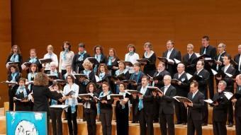 El Cor Maragall, durant el concert de Fires de l'any passat ARXIU