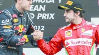 Vettel i Alonso.