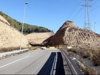 Obres aturades del Quart Cinturó entre Olesa de Montserrat i Viladecavalls. De moment, només hi ha un tram acabat entre Abrera i Viladecavalls JUANMA RAMOS