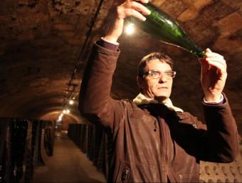 Xavier Nadal, gerent de les Caves Nadal.  JUDIT FERNÁNDEZ