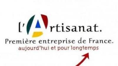 Publicitat de les organitzacions professionals dels artesans a França