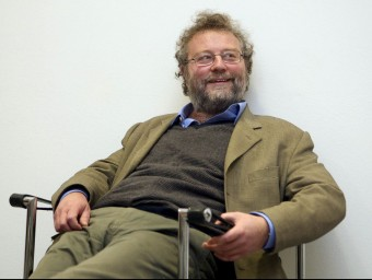 L'escriptor i periodista John Carlin resideix des de fa més una dècada a Catalunya.  ARXIU