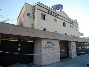 El prostíbul Saratoga, ha estat destrossat en ser tancat per ordre judicial el 2009 A. PUIG