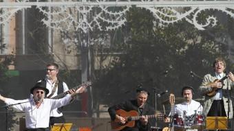 L'actuació de Quico el Célio, el Noi i el Mut de Ferreries tancarà les festes. DIMAS BALAGUER