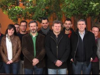 Membres de l'executiva de Compromís a l'Alcoià. CEDIDA