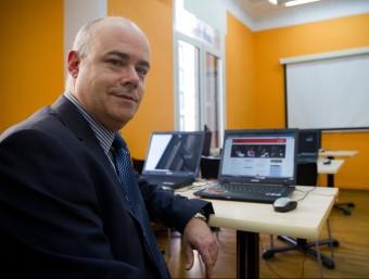 Xavier Piqué és soci director de la consultora Stratex.  ALBERT SALAMÉ