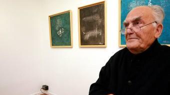 L'autor reivindica un reconeixement profund a Domènec Fita. MANEL LLADÓ