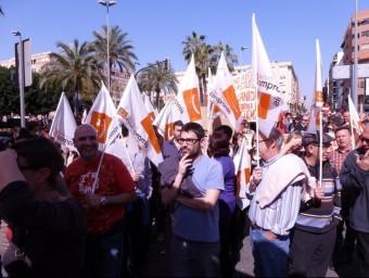 Concentració i manifestació del 29M a Elx. B. VIDAL