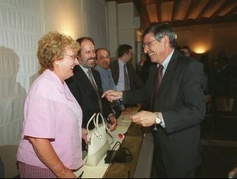 L'exalcalde socialista de Castelldefels, Agustín Padilla, en el seu últim ple a l'ajuntament abans de deixar el càrrec ARXIU