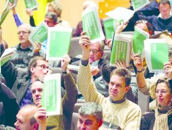 Assemblea General de l'Associació de Municipis per la Independència (AMI) a Vilanova i la Geltrú.  JOSÉ CARLOS LEÓN