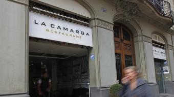 El restaurant barceloní La Camarga, al carrer Aribau de Barcelona MARTA PÉREZ / ARXIU