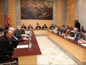 El ple de la Diputació, en una imatge d'arxiu JOAN SABATER