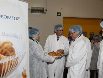 El president Mas, en la inauguració d'Europastry  L'ECONÒMIC