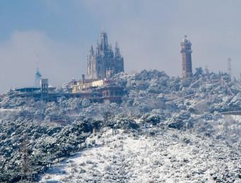 Imatge de Barcelona des del barri del Carmel ALBERT SALAMÉ