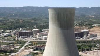 La central d'Ascó va començar a funcionar a mitjans dels anys vuitanta del segle passat.  ARXIU