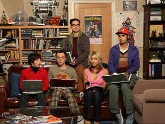 La popularitat del grafè ha arribat a la pantalla a través de The Big Bang Theory.  ARXIU