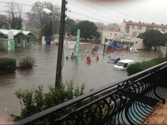 Inundacií al Baix Vernet de Perpinyà JENNIFER BURILL