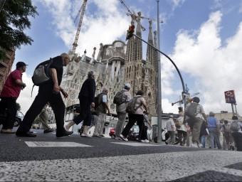 Els mapes d'Apple ho posaven difícil per als turistes que busquen visitar la Sagrada Família.  ARXIU