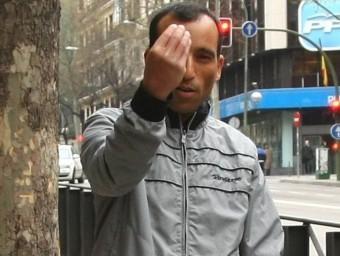Nasreddine Amri , el 2011, a Madrid JESUS G. FERIA / LA RAZÓN
