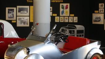 El Biscuter va ser un model que es produïa en sèrie a Sant Adrià de Besòs fins a finals dels cinquanta.  ARXIU