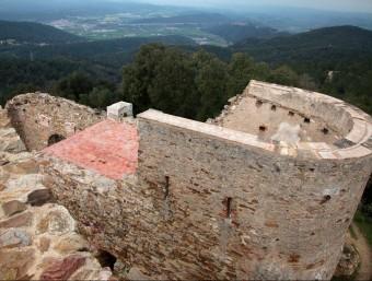 El castell de Sant Miquel, en disputa entre Girona i Celrà tindrà un pla d'usos compartit pels municipis JOAN SABATER