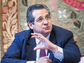 Roure demana que es valori l'aportació de la inversió privada a l'economia.  JOSEP LOSADA