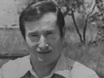 Lluís Pujol, en una foto de joventut.
