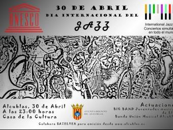 Cartell anunciador del concert de suport a la UNESCO. CEDIDA