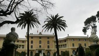 Al Palau de Pedralbes hi ha la seu del secretariat de la Unió per la Mediterrània.  ARXIU/JOSEP LOSADA