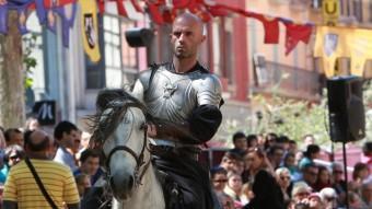 Un cavallers de les Justes del Rei Jaume.