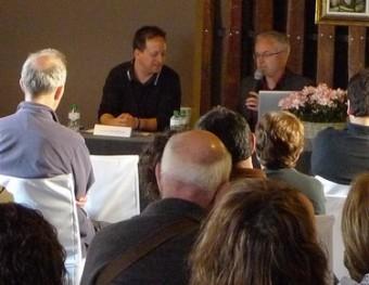 Una de les conferències que va encetar la festa J.C.L