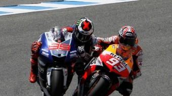 Márquez i Lorenzo, en la topada de la discòrdia MOTOGP