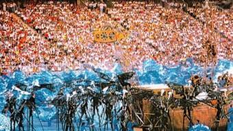 Els Jocs Olímpics de Barcelona 1992 van situar la capital catalana al món.  ARXIU
