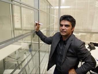 El cofundador i CEO de Barcelona Business Landing, Lluís Lluch.  ORIOL DURAN