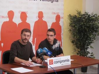 Jordi Puig a l'esquerra de la imatge. EL PUNT AVUI