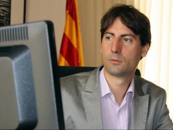 L'alcalde de Caldes de Montbui, Jordi Solé (ERC) ACN