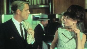 Audrey Hepburn i George Peppard ARXIU