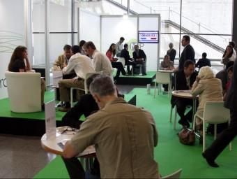 Sessions entre emprenedors al Biz Barcelona.  JUANMA RAMOS