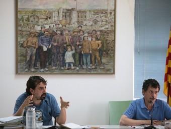 L'alcalde de Celrà va renunciar al càrrec en el ple d'ahir a la nit (a la imatge) MANEL LLADÓ