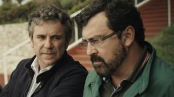 Unax Ugalde, Miguel de Lira i Paco Tous, els protagonistes del film FILMAX