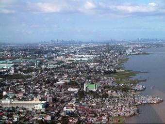 Una imatge de Manila, la capital de Filipines, que supera els 11 milions d'habitants.  ARXIU