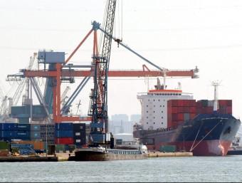 Bona part del comerç exterior català dels inicis del XX es feia a través dels ports de mar.  ARXIU