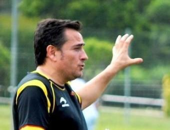 Toni Almendros dóna instruccions, durant la fase final de la copa de les Regions disputada aquest estiu a Itàlia A.M