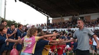 La festa que va organitzar el Girona a Montilivi JOAN SABATER