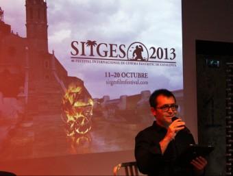 El director del Festival de Sitges, Ángel Sala, presenta l'edició d'aquest any PERE FRANCESCH/ACN