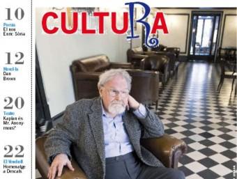 L'escriptor escocès Alasdair Gray, a la portada del Cultura d'aquesta setmana EL PUNT AVUI