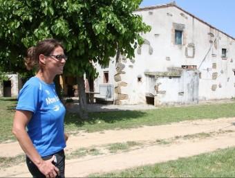 Judit Rovira familiar i veïna de la víctima va arribar a la casa i va poder veure marxar els lladres. ACN